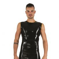Mister B Rubber Sleeveless T-Shirt