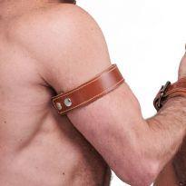 Mr. B Läder bicepsband