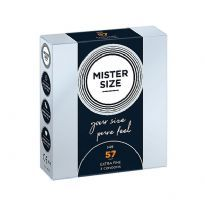 Mister Size - Pure Feel 3stk.