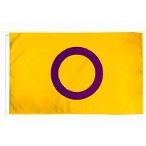 intersexflagga - Printed