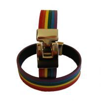 Club HomowareRegnbåge armband i läder., Medium