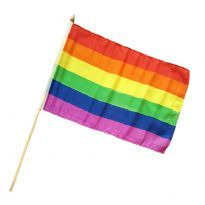 Drengenes tyg handflagga