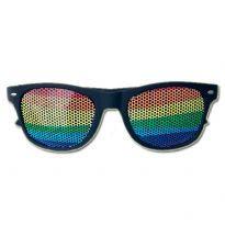 regnbåge solglasögon