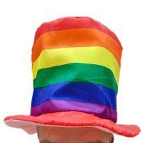 Hög Regnbåge Hatt