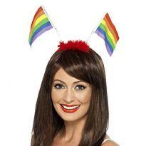 Hårband med Pride flagga