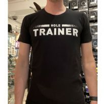 Mister B Statement T-Shirt: Hole Trainer