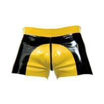 Gummi saddle shorts - Gul