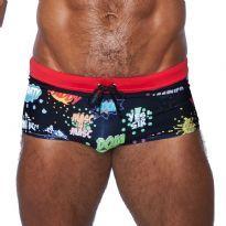 Mister B Swim trunks, Tel Aviv - Svart