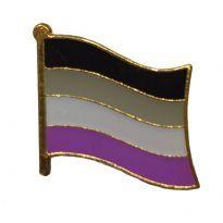 Vårig Asexual Flagga