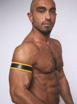 Mister B Läder Biceps Band