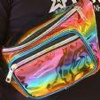 midjeväska, Rainbow färgad