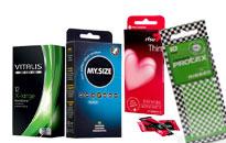 Förpackningar av kondomer, kondom paket