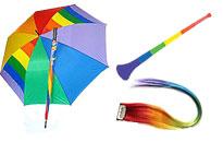 Rainbow paraply för att ge dig den rätta looken, gör dig redo för årets Prideparad