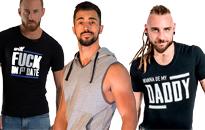 Tröjor för heta killar, Trendiga shirts för män, Snygga t-shirts för män