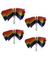 Pride handflagga med logo
