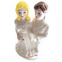 Bröllopstårta statyetter