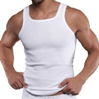 C-IN2 Square Neck Tank Top, Vit
