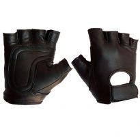 Läderhandskar utan fingrar