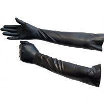 Gummihandskar armbåge längd