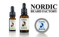 Nordic Beard Factory, skägg produkter från Nordic Beard fabrik